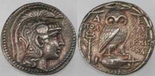 アテネ末期のコイン 商品ページへ(商品番号700034)