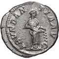 コインの裏側に刻まれたアバンダンティア
