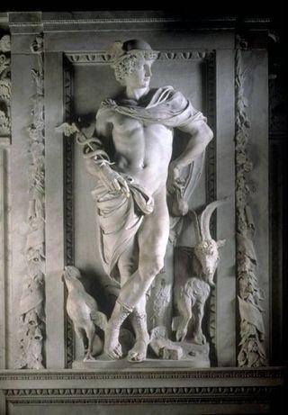 メルクリウス像