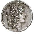 コイン表面に刻まれたエウェントゥス・ボヌス