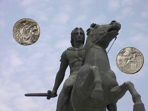 アレキサンダー大王コイン(金貨もあります)