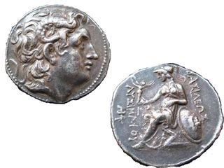 アレキサンダーのコイン
