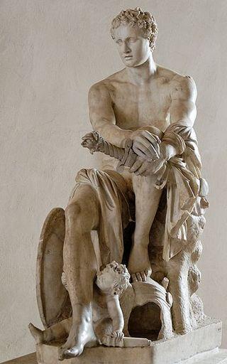 アレス(マルス)像