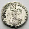 コインの裏面に刻まれたミネルヴァ