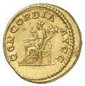 コイン裏面に描かれたコンコルディア