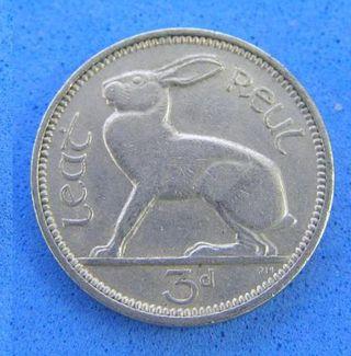 アイルランド3ペンス貨