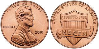 新しい1セント貨