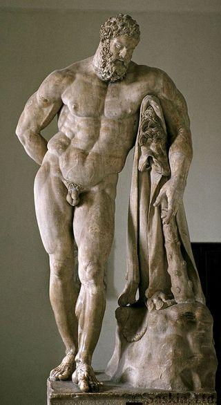 ヘラクレス像