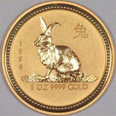 中国1999年干支コイン