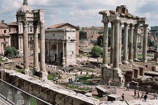 ローマ町並み