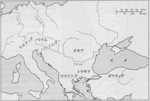 中欧と小アジア